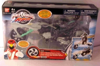 POJAZD POWER RANGERS RANGERS BLACK CYCLE 31136 BAN DAI