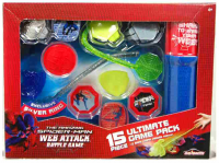 ZESTAW SPIDER MAN WEB ATTACK 15PCS PAK.4