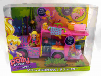 SAMOCHÓD POLLY POCKET SAFARI JEEP W9227 PAK.2
