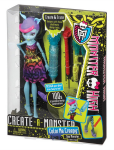 LALKA MONSTER HIGH CREATE A MONSTER BCC45 PAK.4
