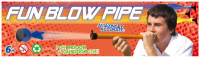 DMUCHAWKA PETRON FUN BLOW PIPE /12 367/8721