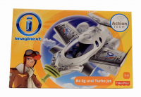 IMAGINEXT FISHER PRICE SAMOLOT TURBO JET /4 WĘGRY BGY1971