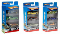 HOT WHEELS 3-PACK TRZY AUTA METAL /12 K5904