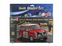 MODEL REVELL MINI COPER MONTE CARLO 1964 1:24 /12 67064