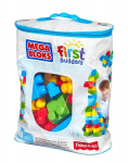 KLOCKI MEGA BLOKS FIRST BUILDERS TORBA FISHER 60EL /6 DCH55