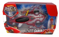 HOT WHEELS BATTLE FORCE 5 BATTLE ACTION