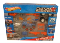 HOT WHEELS CUSTOM MOTORS 3in1 POWER SET MATTEL